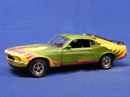 1969-boss-mustang-dragon-power-by-michael-whelan-franklin-mint-TFMB11ZU14