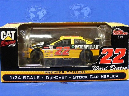 caterpillar-stock-car-racing--ward-burton-22-ertl-ERT20890