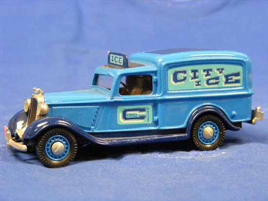 39fa4affa8 Buffalo Road Imports. 1935 Dodge - City Ice Delivery Van-blue TRUCK ...