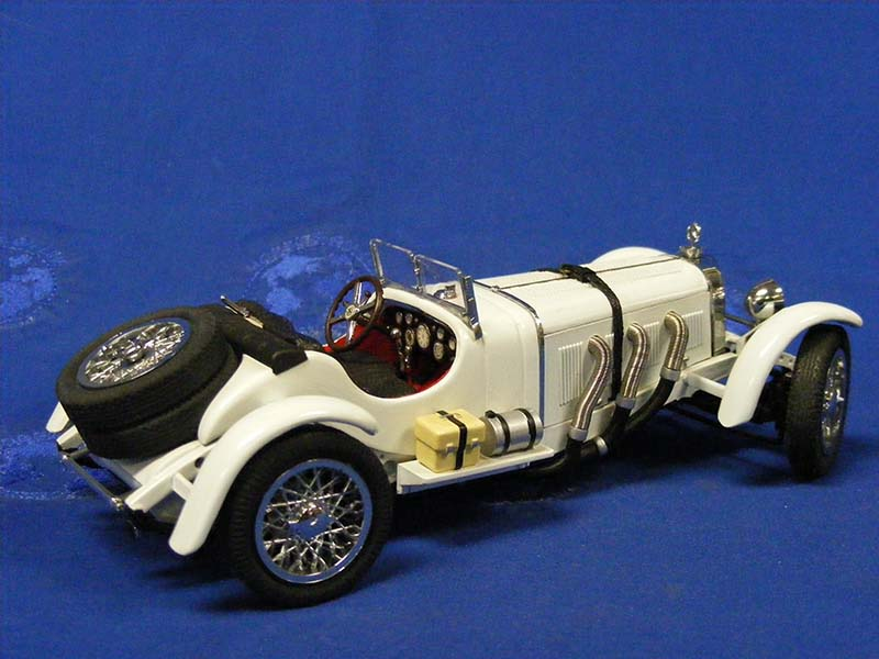 Buffalo Road Imports. 1931 Mercedes Benz SSKL -white CAR ...