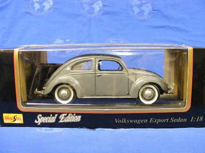 1951-volkswagen-export-sedan-1-orange-1-gray-maisto-MAI31820