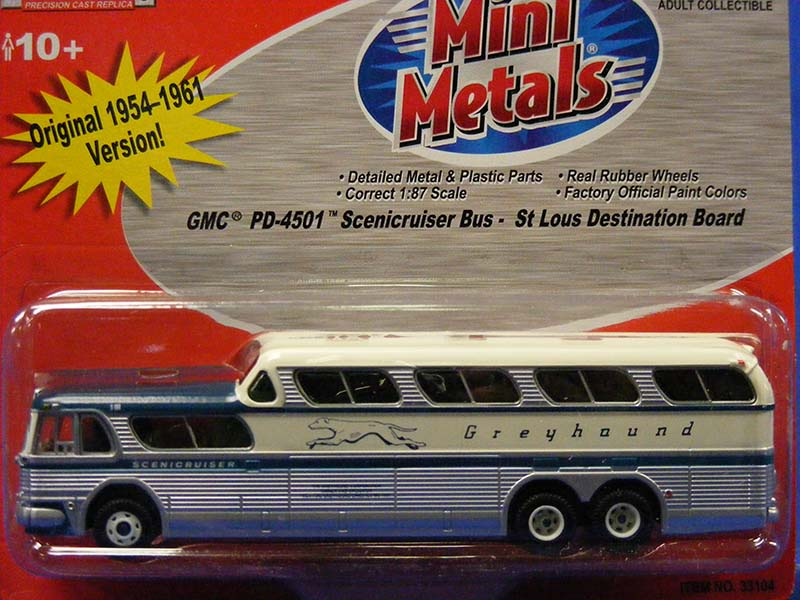 GMC Scenicruiser Bus - St  Louis