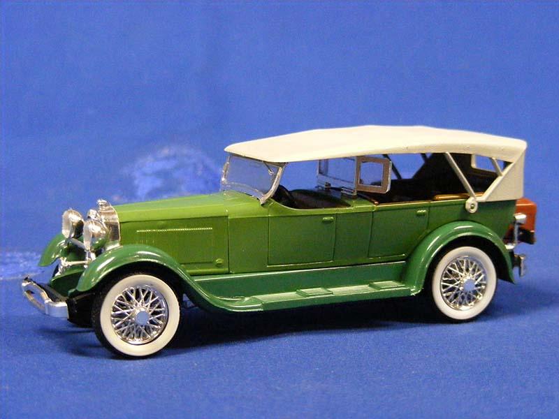 1928 Lincoln Sport Phaeton Green Rio Rio50