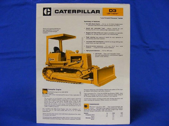 caterpillar-d3-lgp-spec-sheet-1978-aehq9334--SLCATD3LGP78