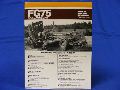 fiat-allis-fg75-grader-spec-75130065--SLFAFG75