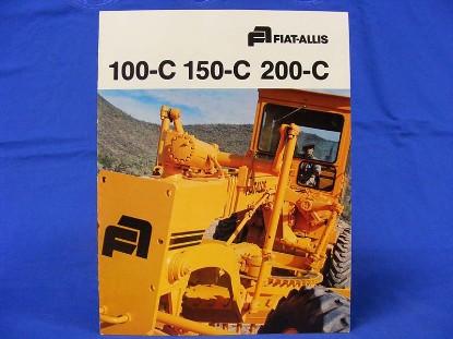 fiat-allis-graders-brochure-100-150-200-c-cm1431--SLFAGRADER