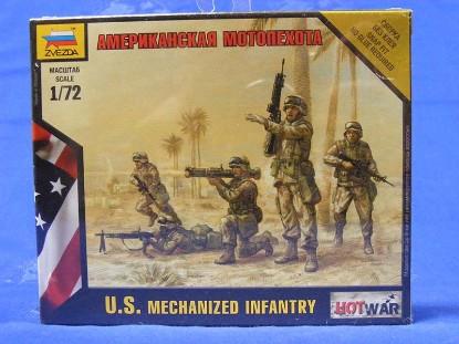 us-mechanized-infantry-zvezda-model-kits-ZVE7407