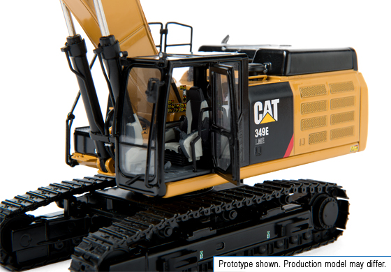 Cat 349E L ME track excavator