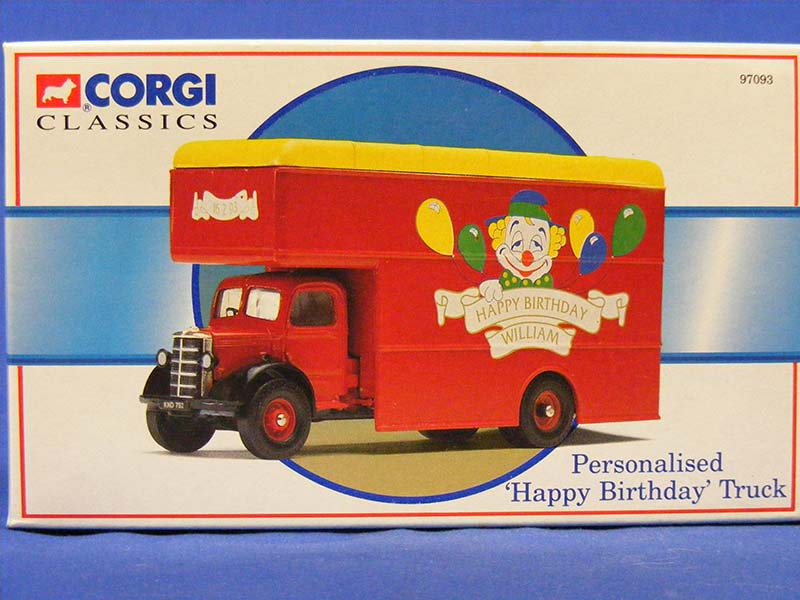 Bedford Pantechnicon Happy Birthday Corgi COR97093