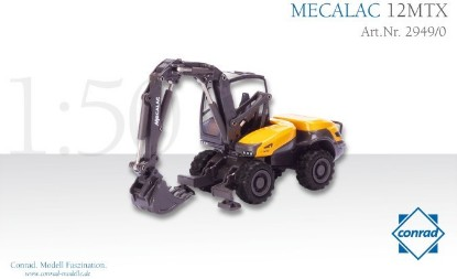 Picture of Mecalac 12MTX wheel excavator