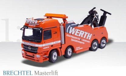 Picture of MB Brechtel Masterlift tow truck WERTH