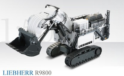 Picture of Liebherr R9800 hydraulic mining shovel