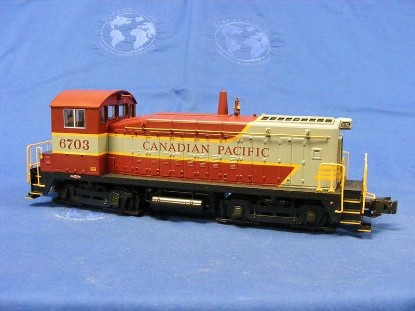 Picture of EMD SW8 Diesel loco CANADIAN PACIFIC