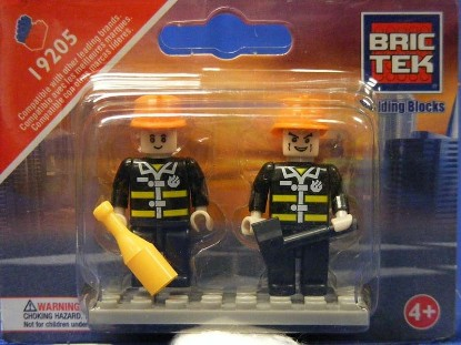 Picture of Mini Figures - Fire Brigade (2)