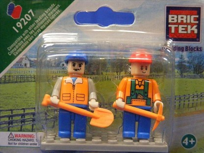 Picture of Mini Figures - Farm Workers (2)