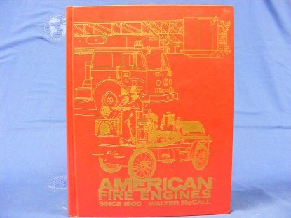 Picture of American Fire Engines Since 1900