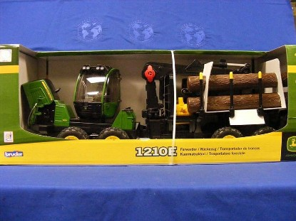 Picture of John Deere 1210E log hauler forwarder