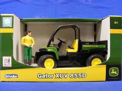 Picture of John Deere Gator XUV 855D with driver