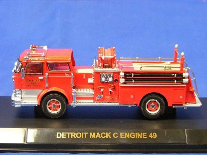Picture of  Mack  C Pumper -Detroit Fire Dept.