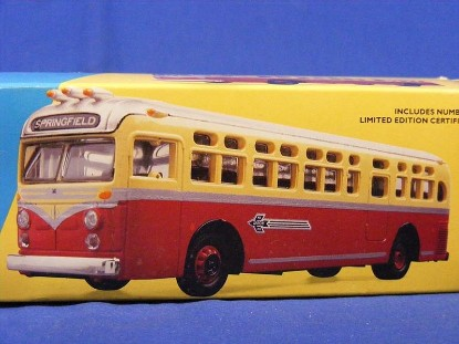 Picture of GM4509 bus RED ARROW LINES Philadelphia