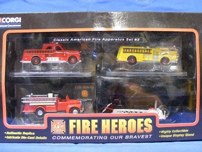 Picture of Classic American Fire Apparatus Set #3  (SET of 4)