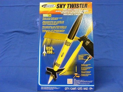 Picture of Sky Twister- Model rocket launch set
