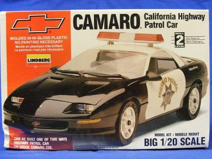 Picture of Camaro California Highway Patrol car kit