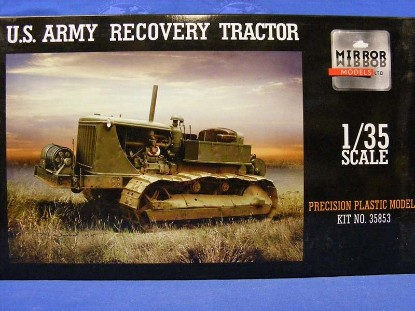 Picture of US Army Recovery Tractor