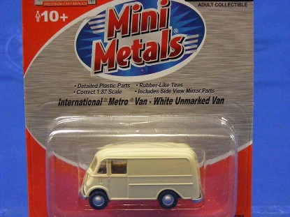 Picture of International Metro Van -Unmarked White