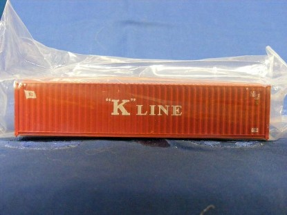 "Picture of 40' Rib-Side Container - ""K"" LINE"