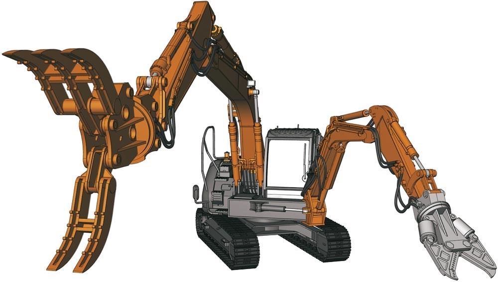 Picture of Hitachi Double Arm Working Machine Astaco Neo kit