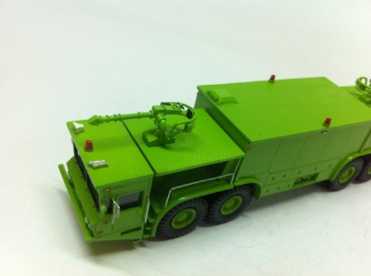 Picture of Oshkosh P15 Twin Engine 8X8 Fire Crash Truck-Green