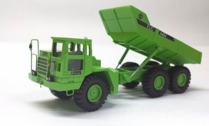 Picture of Euclid A-464 articulated dump green