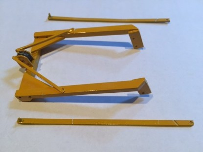 Picture of Letourneau front frame for cable blade for D8