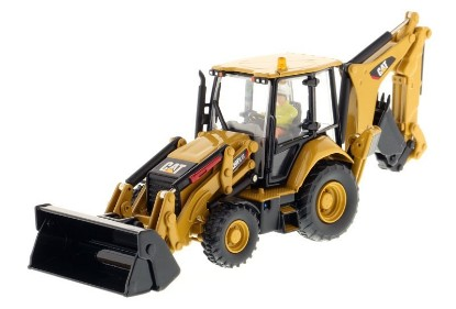 Picture of Caterpillar 420F2 IT tractor backhoe + 6 attachment