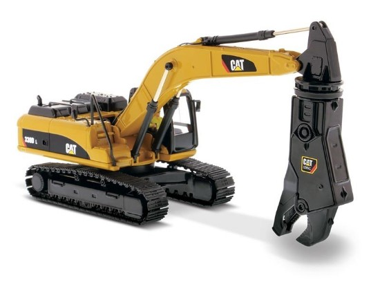 Picture of Caterpillar 330D L excavator with shear