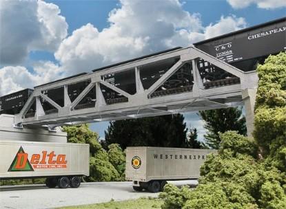 Picture of Single-Track Pony Truss Bridge