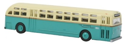 Picture of 1950s-1960 C49 Transit Motor Coach 1-Door Suburban Bus