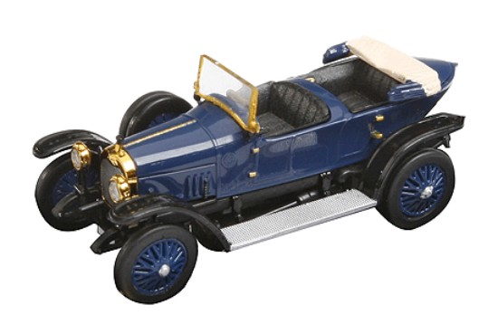 Picture of 1914 Audi Type C Alpensieger -- Top Down (blue)