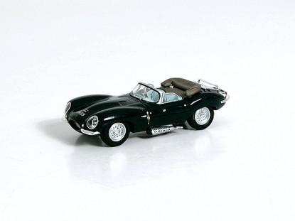 Picture of Jaguar XKSS -- Top Down (green)
