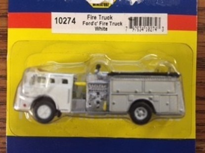 Picture of Ford Fire pumper white