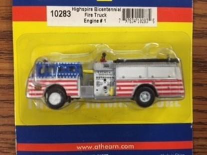 Picture of Ford Fire pumper HIGHSPIRE Bicentennial