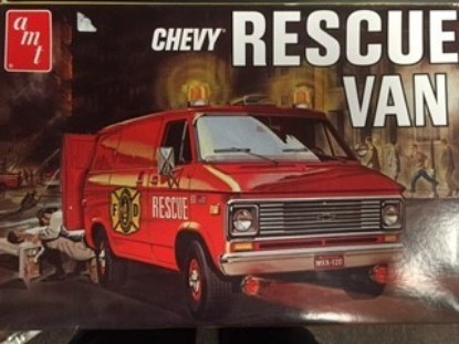 Picture of Chevy Rescue Van