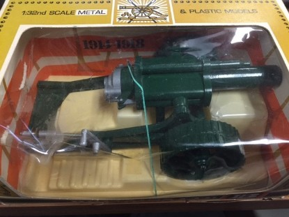 """Picture of 18"""" heavy howitzer artillery gun - green"""