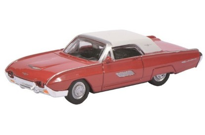 Picture of 1963 Ford Thunderbird - red/white