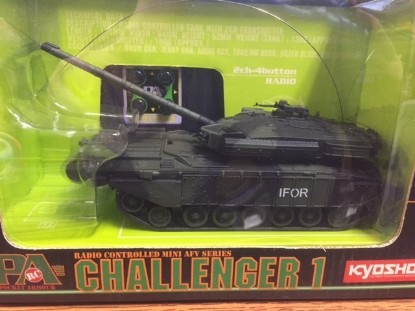 Picture of Challenger I tank IFOR  green/black camo