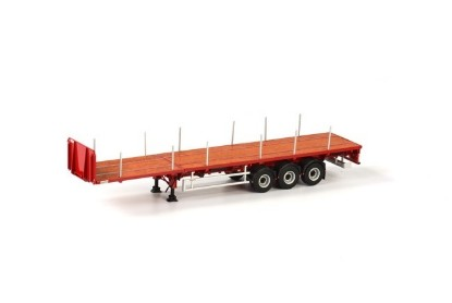 Picture of Flatbed trailer  3 axle