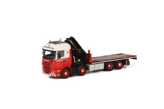 Picture of Scania R6 + Palfinger 92002 with jib WAGENBORG