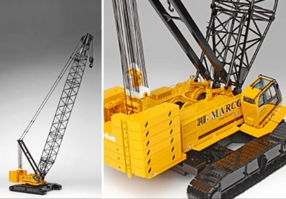 Picture of Link-Belt 348 + boom extension MARCO crane CARE