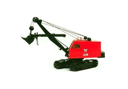 Picture of Link-Belt LS98 shovel
